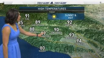 AM Forecast: Record Heat Alert