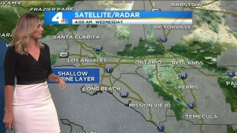 Marine Layer Lessens, Temps Warm Up