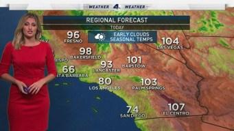 AM Forecast: Unhealthy Air Quality