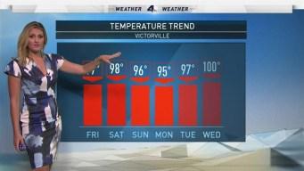 AM Forecast: Slight Humidity Increase