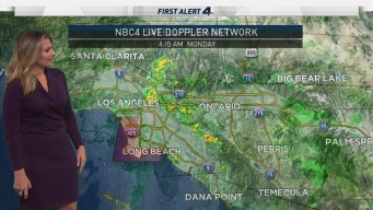 AM Forecast: Rain Moves Out