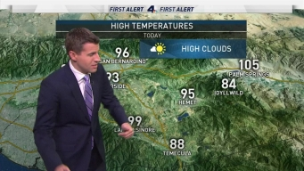 AM Forecast: Storms in the Mountains