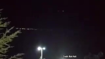 Mystery Light Streaks Across Sky