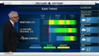 When Will Your Area See the Heaviest Rain?