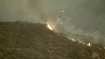 WATCH: Sand Fire Grows to 35 Square Miles
