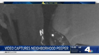 Woman Scares Off Neighborhood Peeper
