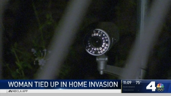 Woman Tied Up, Robbed in Home Invasion