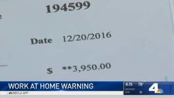 'Work From Home' Scam Targeting People Posting on Job Search Websites