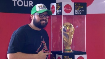 LA Fans Can Now Take a Selfie With the World Cup Trophy