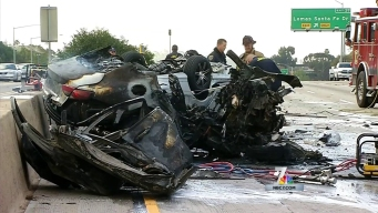 Wrong-Way Driver in Fiery Crash Had BAC 3 Times Limit: ME