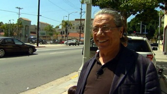 "LA Riots: Olmos ""Just Started Sweeping"""