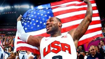 U.S. Men Beat Spain for Hoops Gold