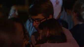 Saugus Students, Community Gathers at Central Park