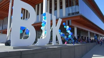 Grand Opening Held for Library Named For Billie Jean King<br />