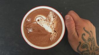 San Francisco Artist Paints a Picture in Your Cup of Joe