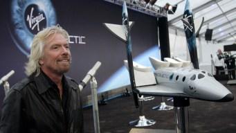 Richard Branson's Virgin Galactic Goes Public