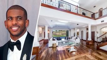Inside NBA Star Chris Paul's Bel Air Mansion