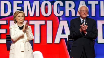 Clinton, Sanders Campaign in California