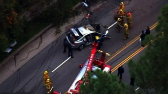 One Killed in Sunset Boulevard Crash