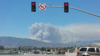Cajon Pass Fire: AM Update
