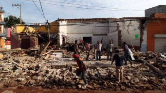 At Least 61 Killed as Powerful Quake Rocks Mexico