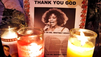 Emotional Goodbye to Whitney
