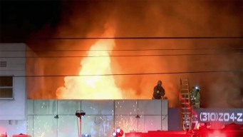Firefighters Knock Down Flames at a Mid-City Office Building