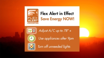 Flex Alert: Californians Asked to Conserve Power During Record Heat