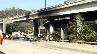 134 Freeway Opens for Monday Drive