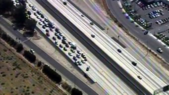 Driver Shot on 10 Freeway in Redlands