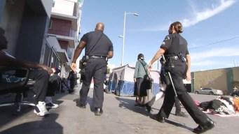 Gangs of LA on Skid Row