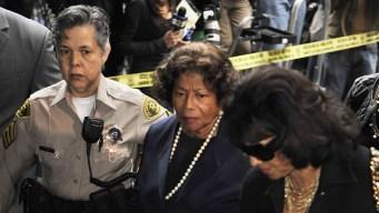 Katherine, La Toya Jackson React to Sentence