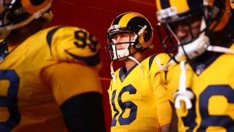 Rams' Jared Goff Looks to Be a Star At Jerry's World<br />