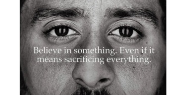 Kaepernick Watches Ad's TV Premiere From Nike HQ: Source