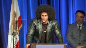 Colin Kaepernick Honored at ACLU Event in Beverly Hills