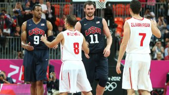 Love Leads Rout of Tunisia