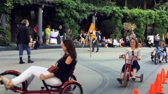 Ride an Adult Trike at a Grown-up PLAYDATE