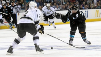 Richards' Goal Not Enough as Sharks Edge Kings