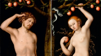 Nazi-Looted 'Adam' and 'Eve' Paintings to Stay in Pasadena