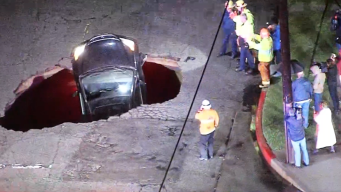 Laurel Canyon Partially Reopens After Sinkhole Swallows Cars