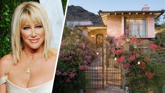 For Sale: Suzanne Somers' Hamlet Comes With a Tiny Railway