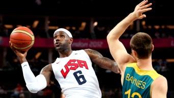 U.S. Overwhelms Australia 119-86 in Basketball Quarterfinal
