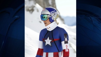 In Her Captain America Suit, Vonn Is Finally Ready to Attack