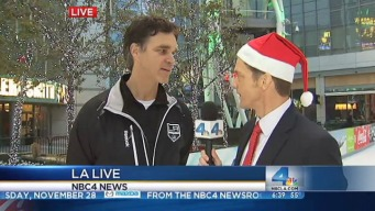 NBC4's Sean Murphy Speaks With Luc Robitaille