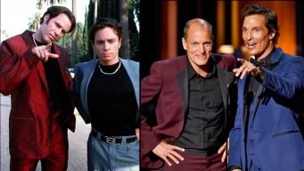 """McConaughey, Harrelson Channel """"Roxbury"""""""