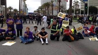 Packed Streets, Few Arrests in LA May Day