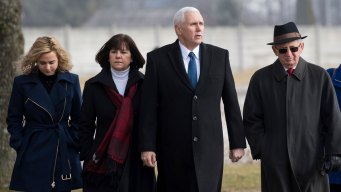 Pence Visits Former Nazi Concentration Camp