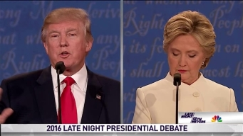 'Late Night' Presidential Debate