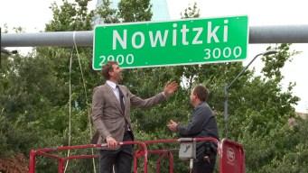 Dallas Street Renamed 'Nowitzki Way' in Honor of Dirk