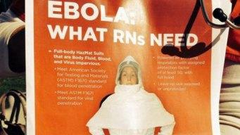 Nurses Union: UC Hospitals Not Ready for Ebola Patients
